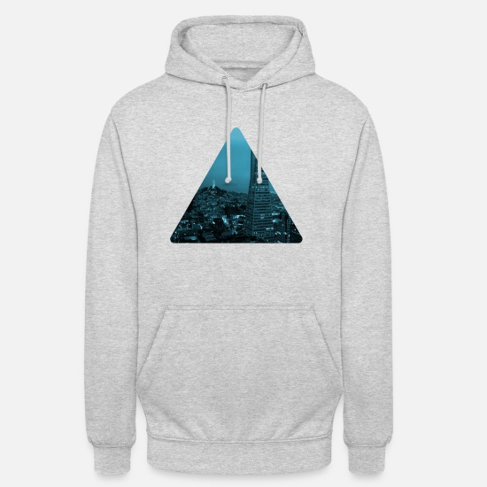 Love Hoodies & Sweatshirts - skyline - Unisex Hoodie light heather grey