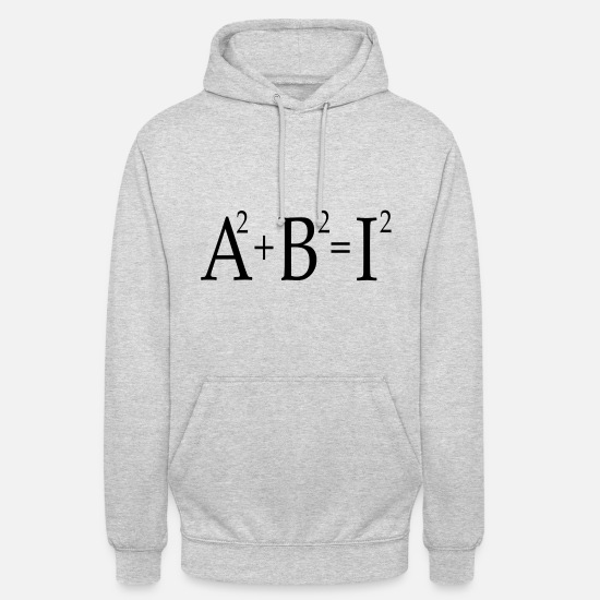 High School Senior Hoodies & Sweatshirts - Abi High School graduation - Unisex Hoodie light heather grey