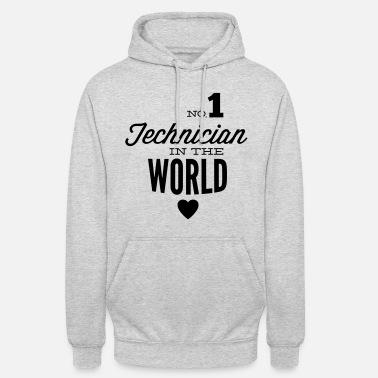 Schublehre Best technician of the world - Unisex Hoodie