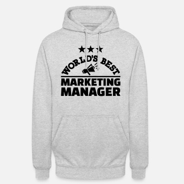 Marketing Manager Marketing manager - Unisex hoodie