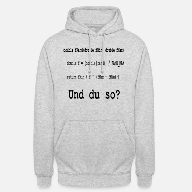 Program-what-you-do Programming / coding and you like that? - Unisex Hoodie