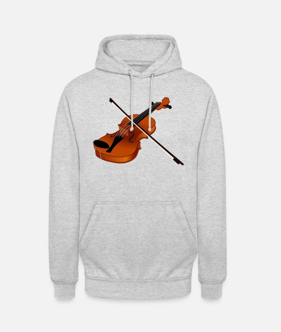 Artist Hoodies & Sweatshirts - Geige - Unisex Hoodie light heather grey