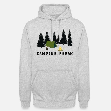 Intimo Freak Camping Campfire Shirt with Forest CAMPING FREAK - Hoodie unisex