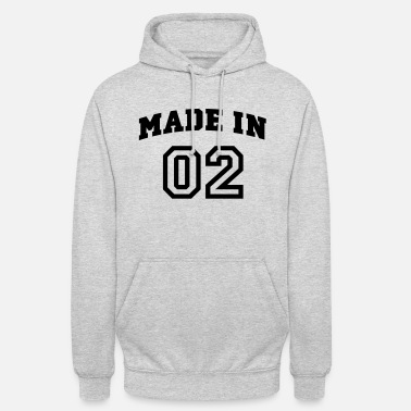 Made mp_madein02a - Sweat à capuche unisexe