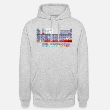 Periodic Table Periodic table. - Unisex Hoodie