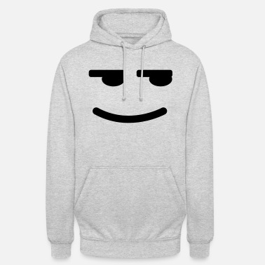 Satisfied Satisfied Smiley - Unisex Hoodie