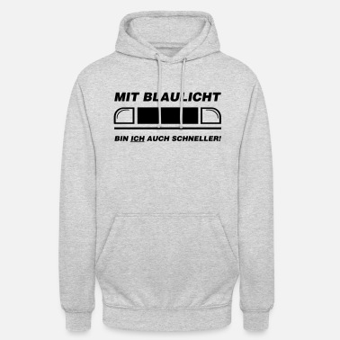 Blue Light With blue light ...... - Unisex Hoodie