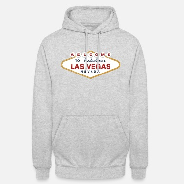 Vegas Welcome to Las Vegas Retro - Unisex Hoodie