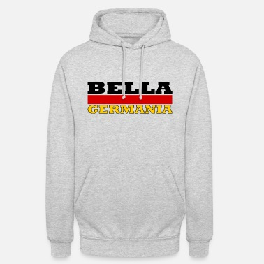Germania Beautiful Germany (flag) - Bella Germania - Unisex Hoodie