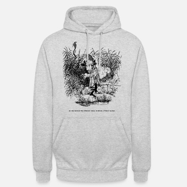 Thelwell Compleat Tangler Cartoon Alleine Angeln - Unisex Hoodie