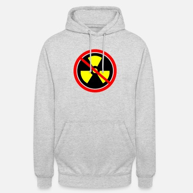 Castor Transport Anti nuclear power Nuclear power stations Nuclear energy Atomic energy - Unisex Hoodie