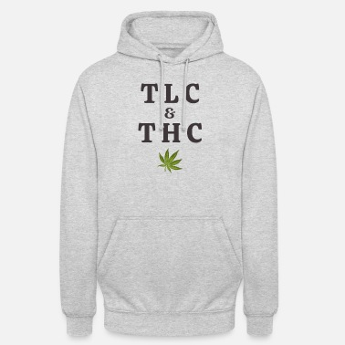 Tlc 420 Pot Leaf Graphic / Marijuana Plant Saying / - Unisex hoodie