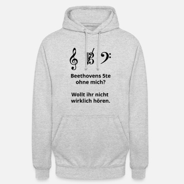 Viola Funny saying for viola and viola player - Unisex Hoodie