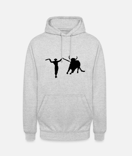 Matador Hoodies & Sweatshirts - Bullfighting - Torero - Matador - Unisex Hoodie light heather grey