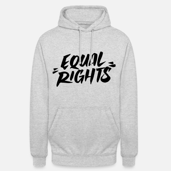 Love Hoodies & Sweatshirts - Equal Rights Equal Rights - Unisex Hoodie light heather grey