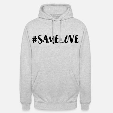 Lovely Same Love Hashtag - Unisex Hoodie