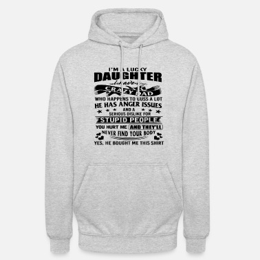 Father And Daughter Father daughter daddy family buddy gift idea - Unisex Hoodie