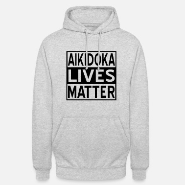 Japanese Self-defense Aikido Japanese Martial Arts Training Gift - Unisex Hoodie