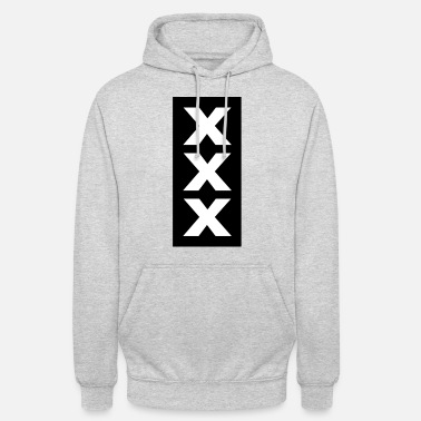 Netherlands XXX Coat of Arms Amsterdam | Netherlands, Netherlands - Unisex Hoodie