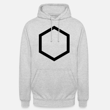 Hexagon hexagon - Unisex Hoodie