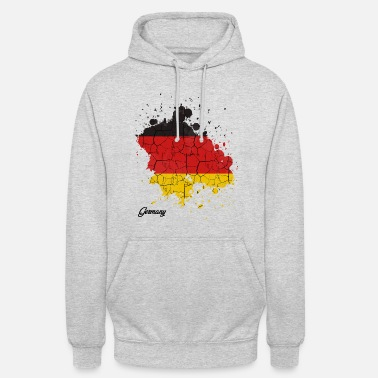 Federal Republic Of Germany Federal Republic of Germany countries outline gift - Unisex Hoodie