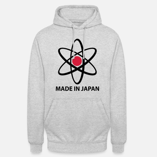 Professor Hoodies & Sweatshirts - Made in Japan | Nuclear | Science - Unisex Hoodie light heather grey