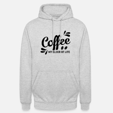 Elixir Coffee Elixir of Coffee Drinker Bean Elixir - Unisex hoodie