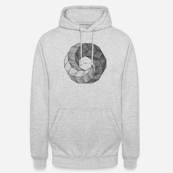 Gift Idea Hoodies & Sweatshirts - turned ring - Unisex Hoodie light heather grey
