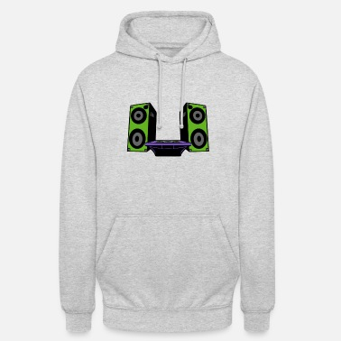 Digital I LIKE IT LOUDEER - Unisex Hoodie