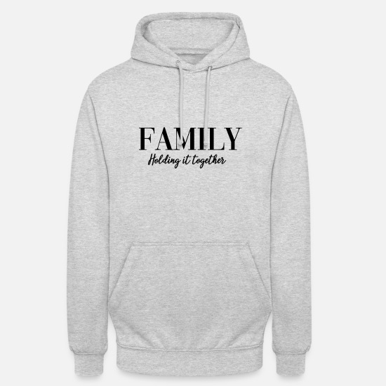 Family Crest Hoodies & Sweatshirts - family - Unisex Hoodie light heather grey