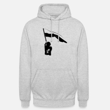 To Show The Flag Kurvenkind show the flag - Unisex Hoodie