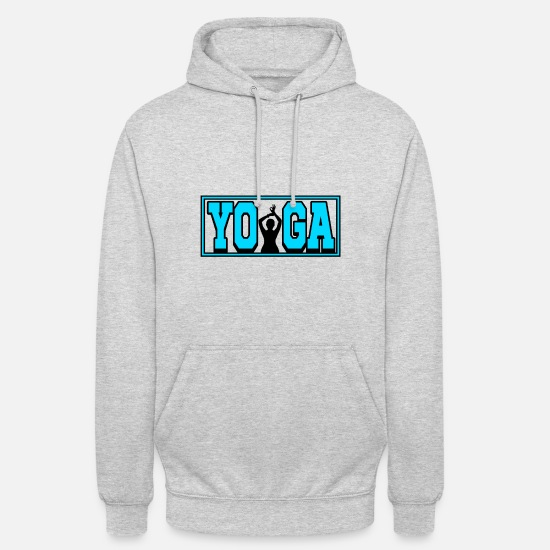 Gift Idea Hoodies & Sweatshirts - Yoga - Yoga - Unisex Hoodie light heather grey