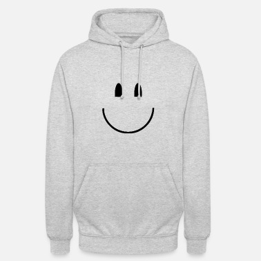 Happy laughing face feeling happy happy grinning - Unisex Hoodie