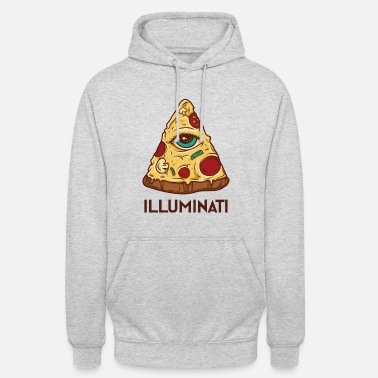 Triangel Pizza Illuminati Graphic - Hoodie unisex