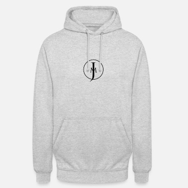 JM Designs Black on White - Unisex Hoodie