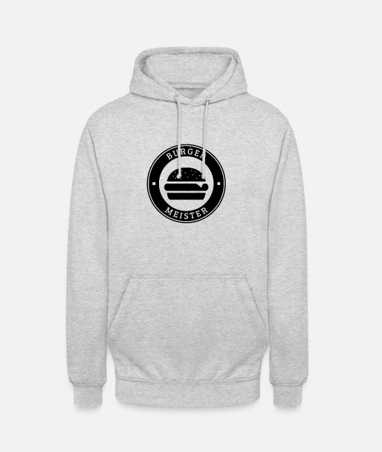 Fast Food Hoodies & Sweatshirts - Mayor - Unisex Hoodie light heather grey