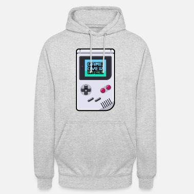 Game Game Boy Game Over Bitches - Sudadera con capucha unisex