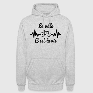 The bike that's life - Cycling - Unisex Hoodie