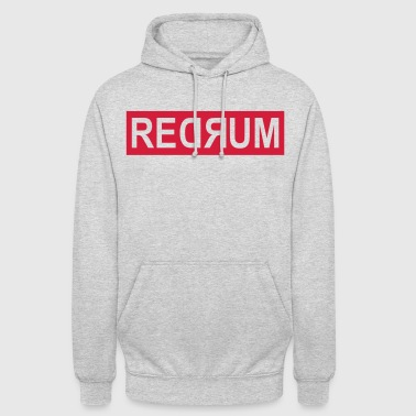Redrum Clean - Sweat-shirt à capuche unisexe