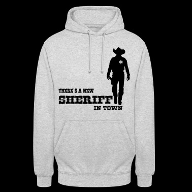 SHERIFF - Sweat-shirt à capuche unisexe