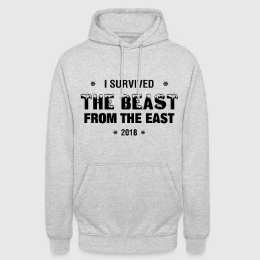 I Survived - The Beast From The East - 2018 - Unisex Hoodie