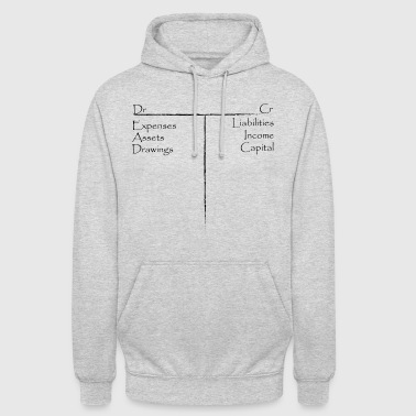 Comptes T - Sweat-shirt à capuche unisexe