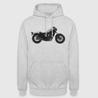 moto - Sweat-shirt à capuche unisexe