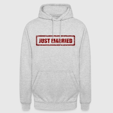 Just Married Frisch Verheiratet Heirat Geheiratet - Unisex Hoodie