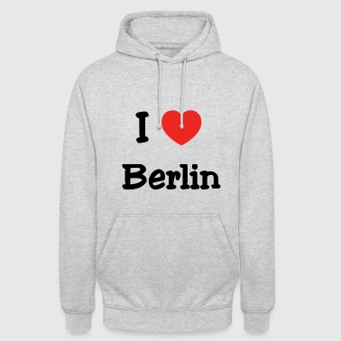 We love Berlin - Unisex Hoodie