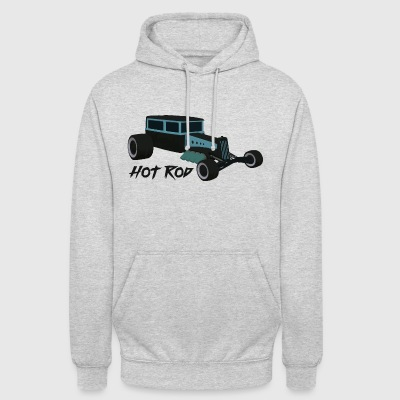 Hot Rod lover v1 - Sweat-shirt à capuche unisexe