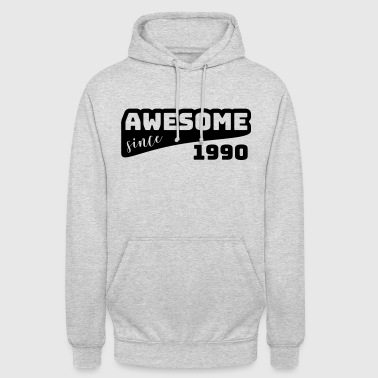 Awesome since 1990 / Birthday-Shirt - Unisex Hoodie