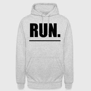 Run running sports - Unisex Hoodie