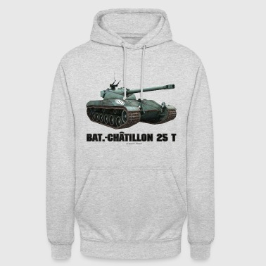 World of Tanks Bat.-Châtillon 25T Men Hoodie - Luvtröja unisex