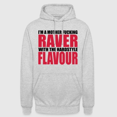 Mother F*cking Raver 2 EDM Quote - Unisex Hoodie
